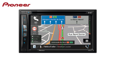 PIONEER AVIC-Z730DAB: 2-DIN Navigationssystem mit DAB+, Apple CarPlay & Android Auto