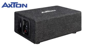 AXTON ATB120QBA: 20 cm Aktiv-Bassbox fürs Auto